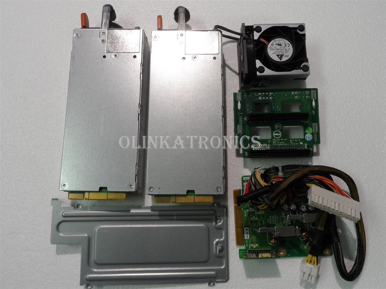 Dell Dual Hot Swap Power Supply 1100w Distribution Board Poweredge Server R520 Ebay Distribution Board Power Supply Server