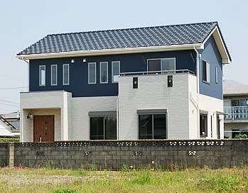 外壁 ブルーグレー Google 検索 マイホーム 外観 住宅 外観 建築物