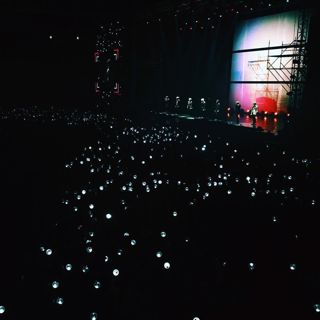 #화양연화onStage 공연장에 은하수가 떴다 ✨☄ #방탄소년단 #오늘의방탄