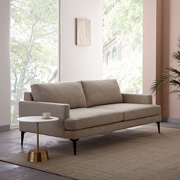 With Its Modern Form, Extra Deep Seat And Crisp Tailoring, Our Spacious  Andes Sofa Has Serious Presence But Feels Airy And Light Thanks To The Thin  Frame ...