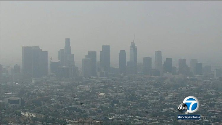 Southern California Seeing Increasing Unhealthy Levels Of Smog Abc7 Los Angeles Southern California California California Summer