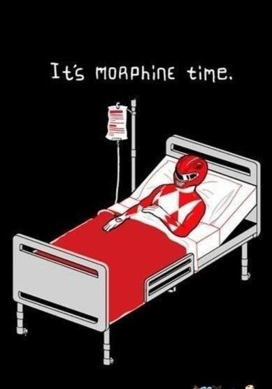 Its Morphine time