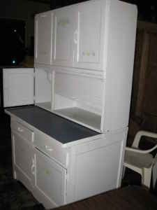 Antique Bakers Hoosier Cabinet Painted 250 Johnson City Tn