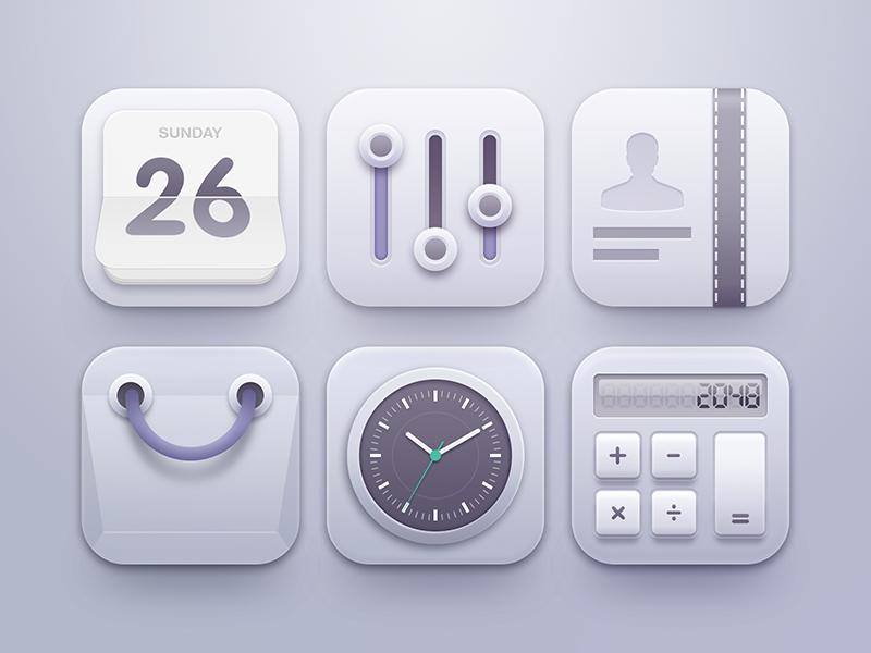 Clean Icons App icon design, Icon design, App icon