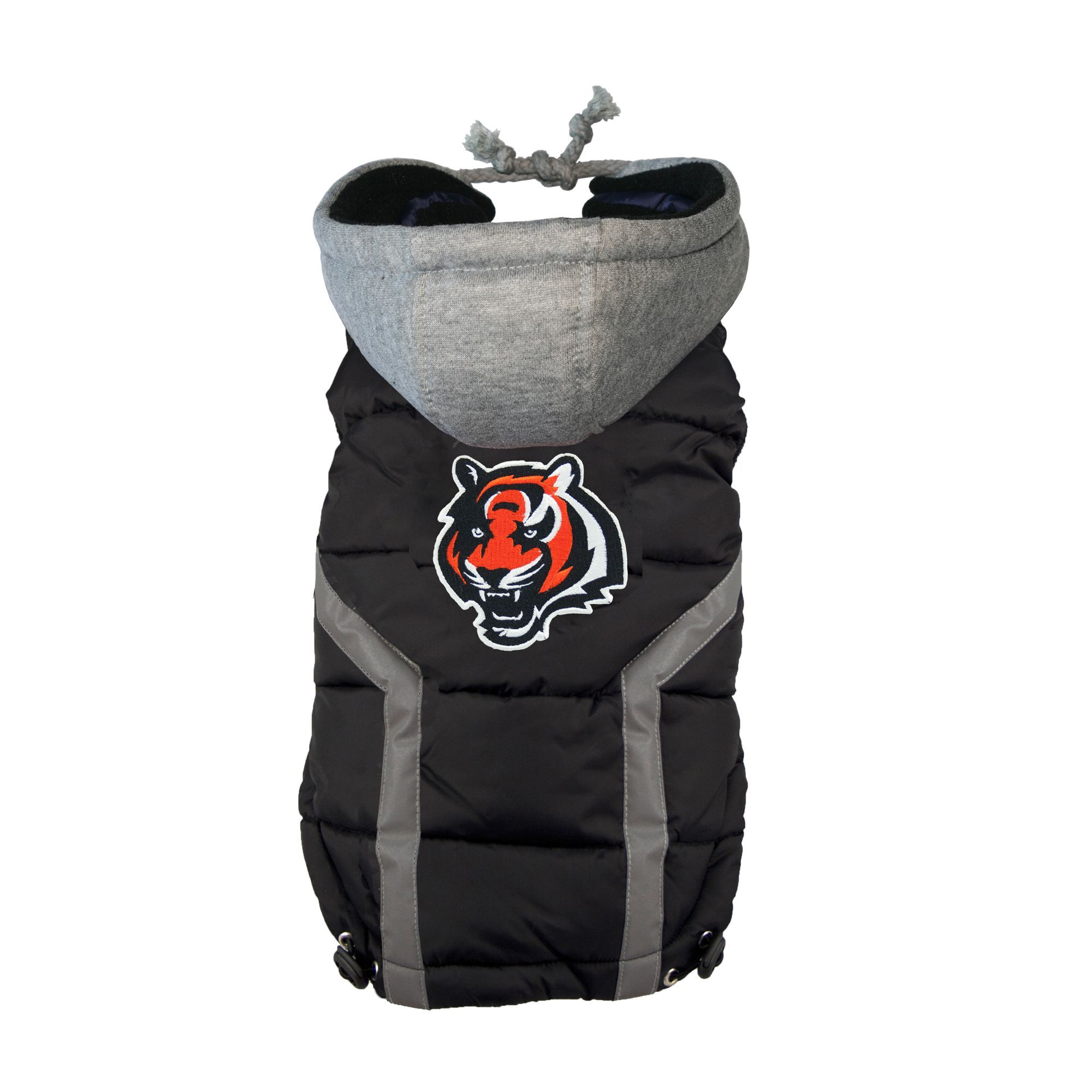 Cincinnati Bengals NFL Puffer Vest size 2X Large, Hip
