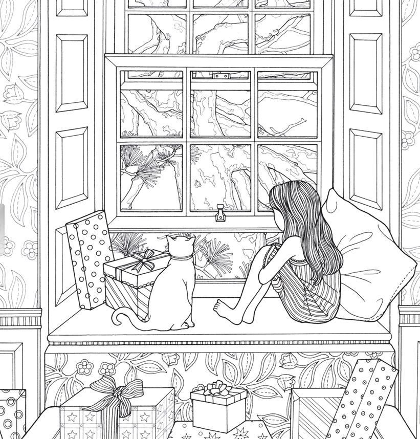coloring book all the gifts of the world anti stress adult - Coloring Pages For Young Adults