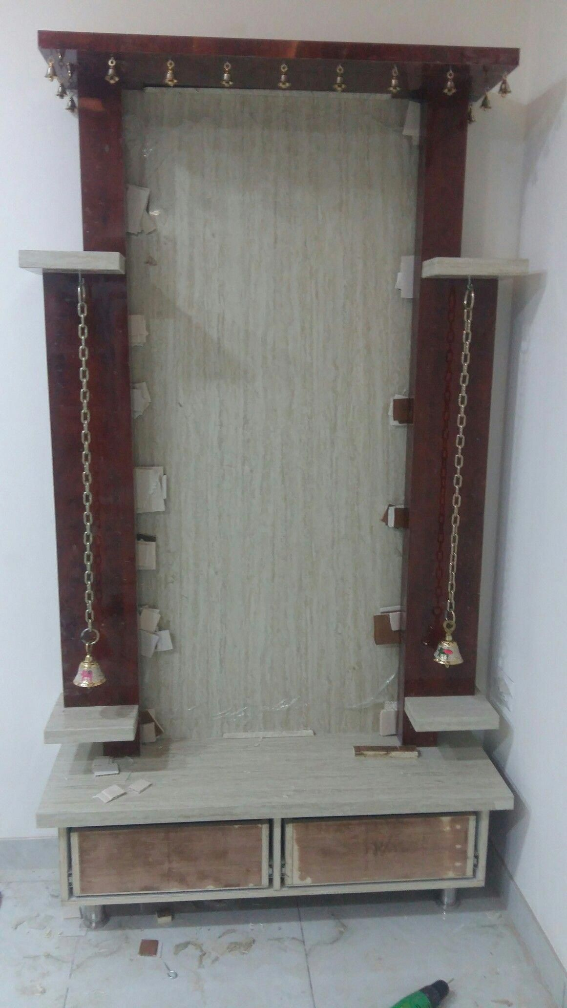 9 Traditional Pooja Room Door Designs In 2020: Home Decorators Collection Vanity #HomeDecorationProducts