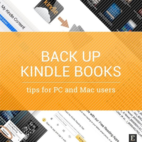 How To Back Up Kindle Books To A Computer Step By Step Guides I Robot Book Free Reading Apps Books