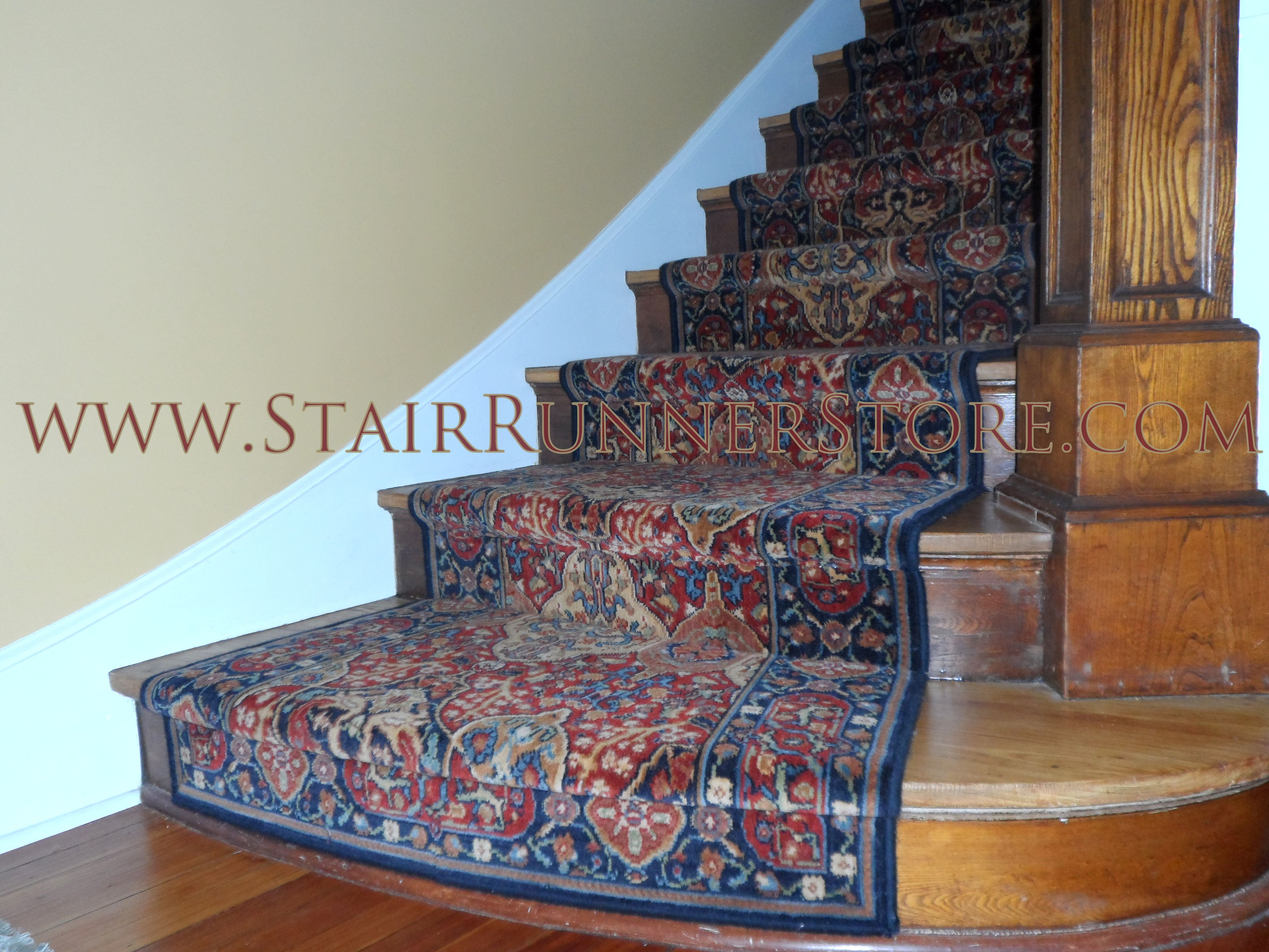 Gentil Our Latest Karastan Stair Runner Installation With Tricky Bow Front Steps  Where John Has Fabricated The Runner To Create A Gentle Curve And Has Added  A ...