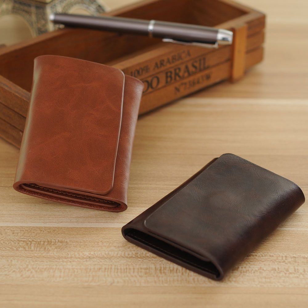 $6.54 (Buy here: http://appdeal.ru/7flr ) 2016 Hot Sale Fashion New Men Money Clips Black Brown PU Leather Clamp For Money With Coin Pocket credit card holder brand for just $6.54