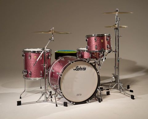 ludwig pretty in pink ludwig drums in 2019 drums ludwig drums percussion. Black Bedroom Furniture Sets. Home Design Ideas