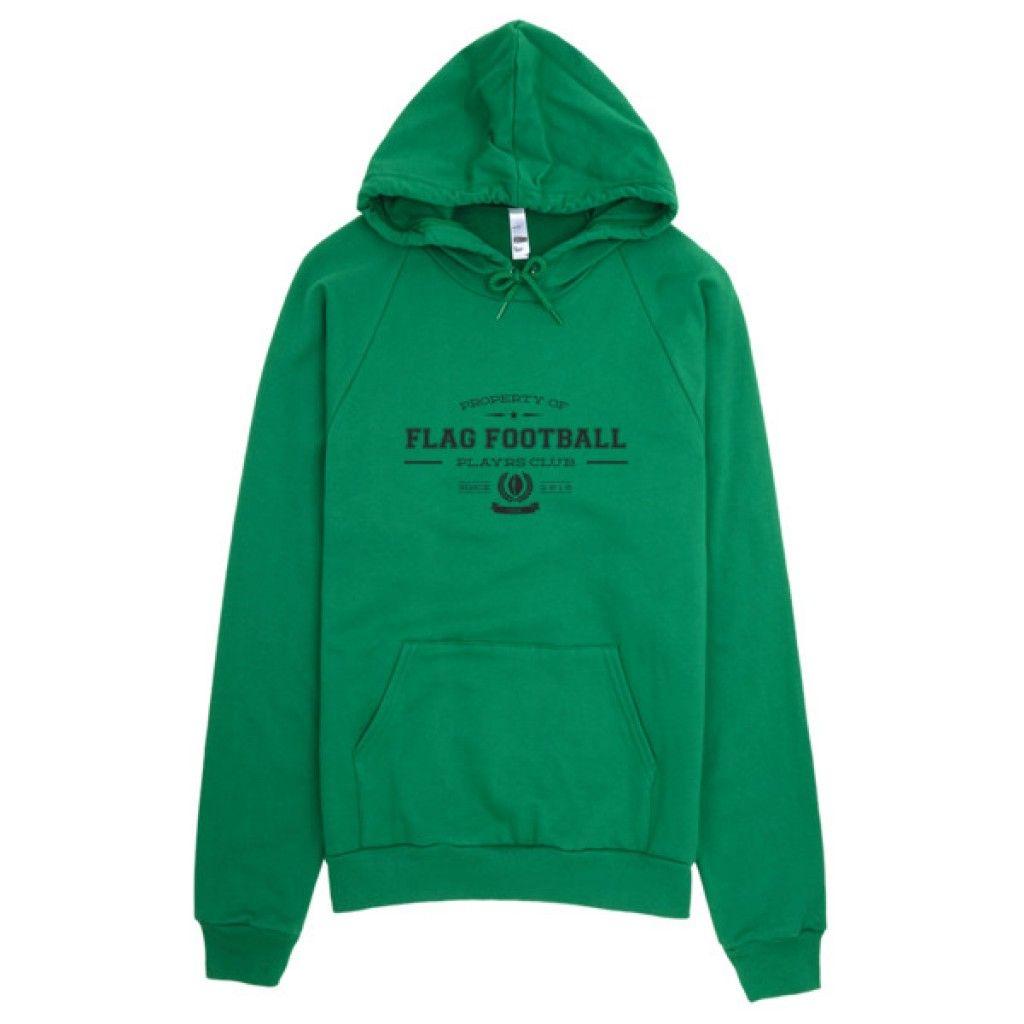 The PLAYRS Club Flag Football Sweatshirt – Dark