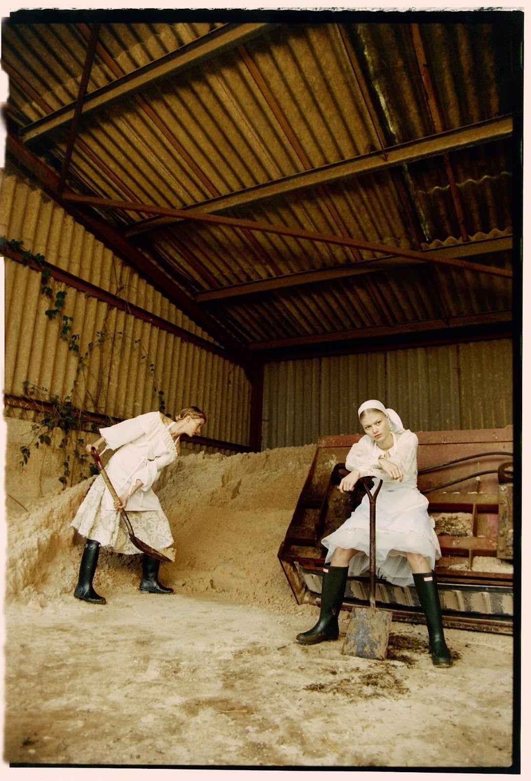 models: clara overgaard (silent) ,kadri vahersalu (muse) andlærke simone (w360)   photographer: michal pudelka (katybarker)   sty...