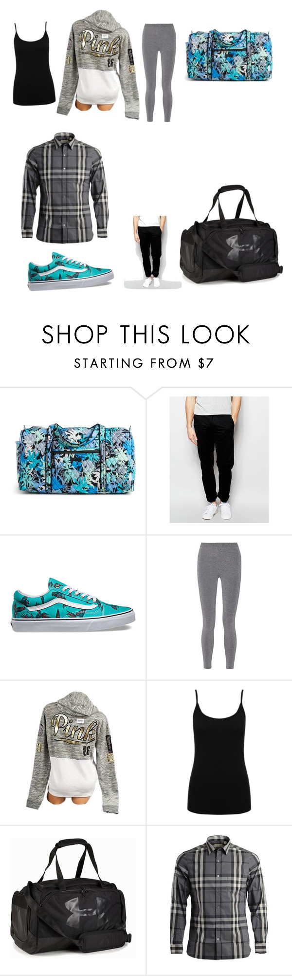 """Traveling with Louis"" by hazzajelly on Polyvore featuring Vera Bradley, Farah, Vans, T By Alexander Wang, Victoria's Secret, M&Co, Under Armour and Burberry"