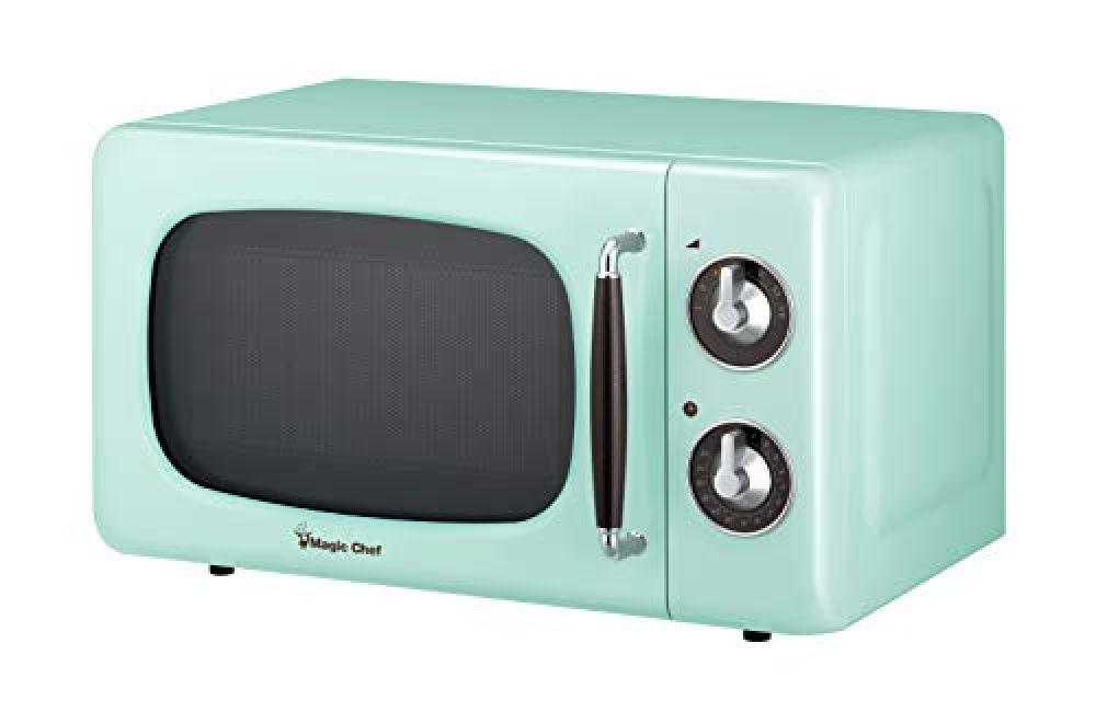 Magic Chef Mcd770cm Mint Green 0 7 Cu Ft 700w Retro Countertop Microwave Oven 7 Cu Ft Price 79 In 2020 Countertop Microwave Oven Countertop Microwave Magic Chef