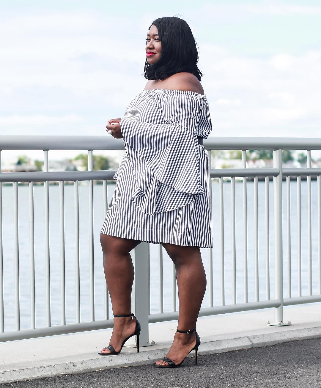 945133761893 Keeping It Cute with These Summer Worthy Off the Shoulder Looks! Plus Size Summer  Fashion