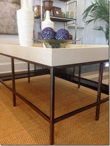 What's New Wednesday: Shagreen Cocktail Table. Available through Heather Scott Home & Design.