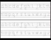 lowercase letter tracing free worksheet kids 39 education tips letter tracing worksheets. Black Bedroom Furniture Sets. Home Design Ideas