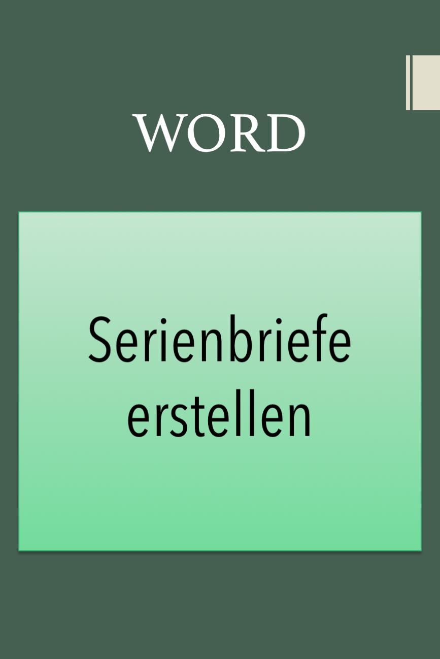 Word Tipps In 2020 Buroorganisation Tipps Brief Tricks