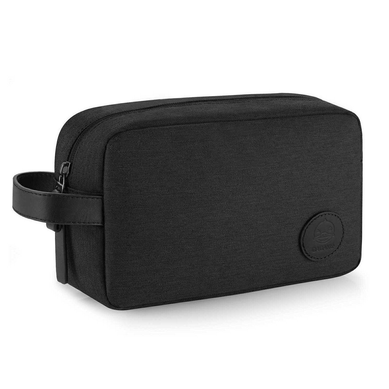 GAGAKU Travel Toiletry Bag for Men Waterproof Dopp Kit Cosmetic Case Travel  Organizer - Black be94885ce97ca