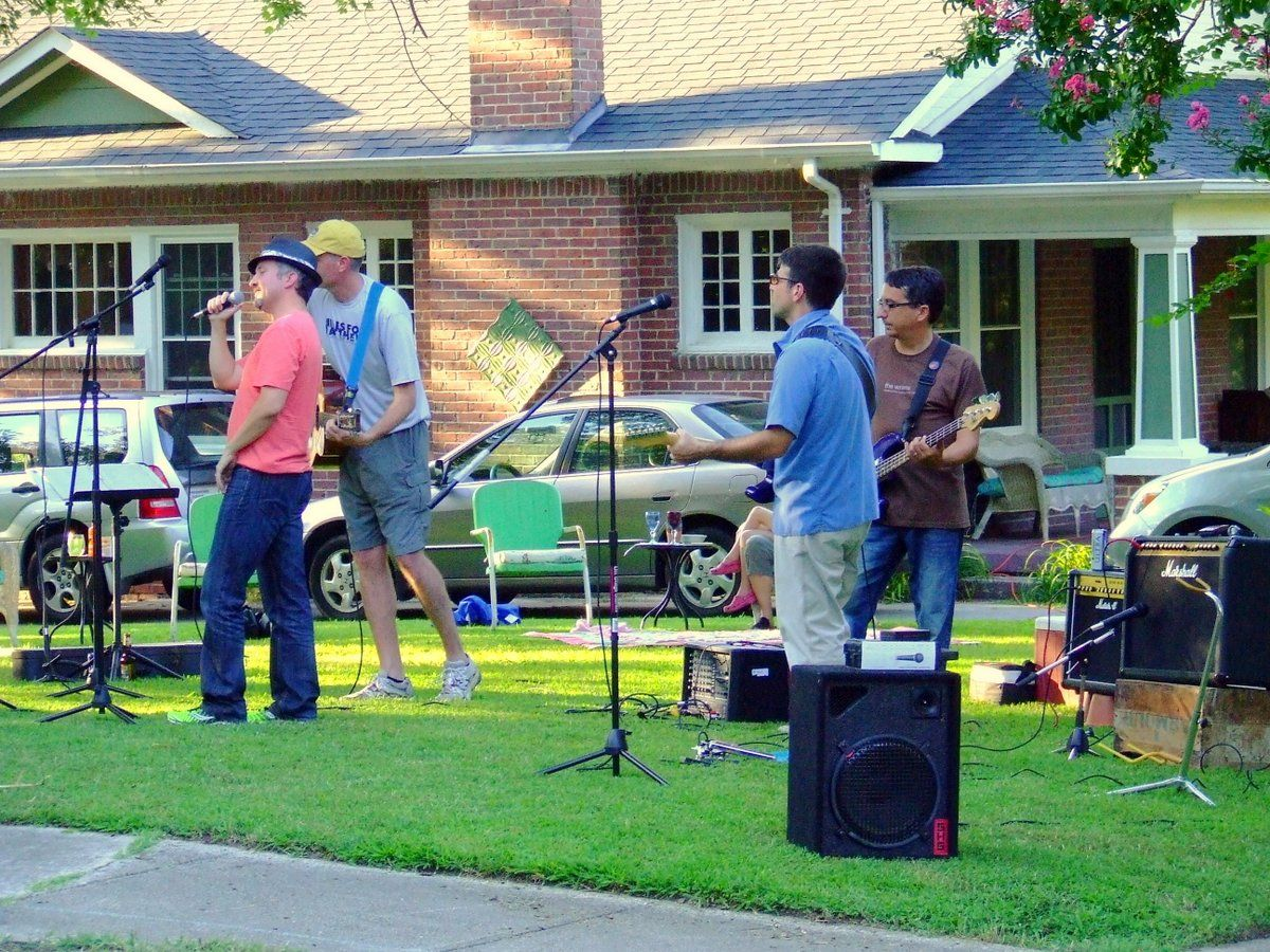 the toad frogs with an impromptu lawn performance during the 2013