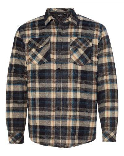 Burnside Quilted Flannel Jacket 8610 Flannel Jacket Quilted Flannel Shirt Shirt Jacket