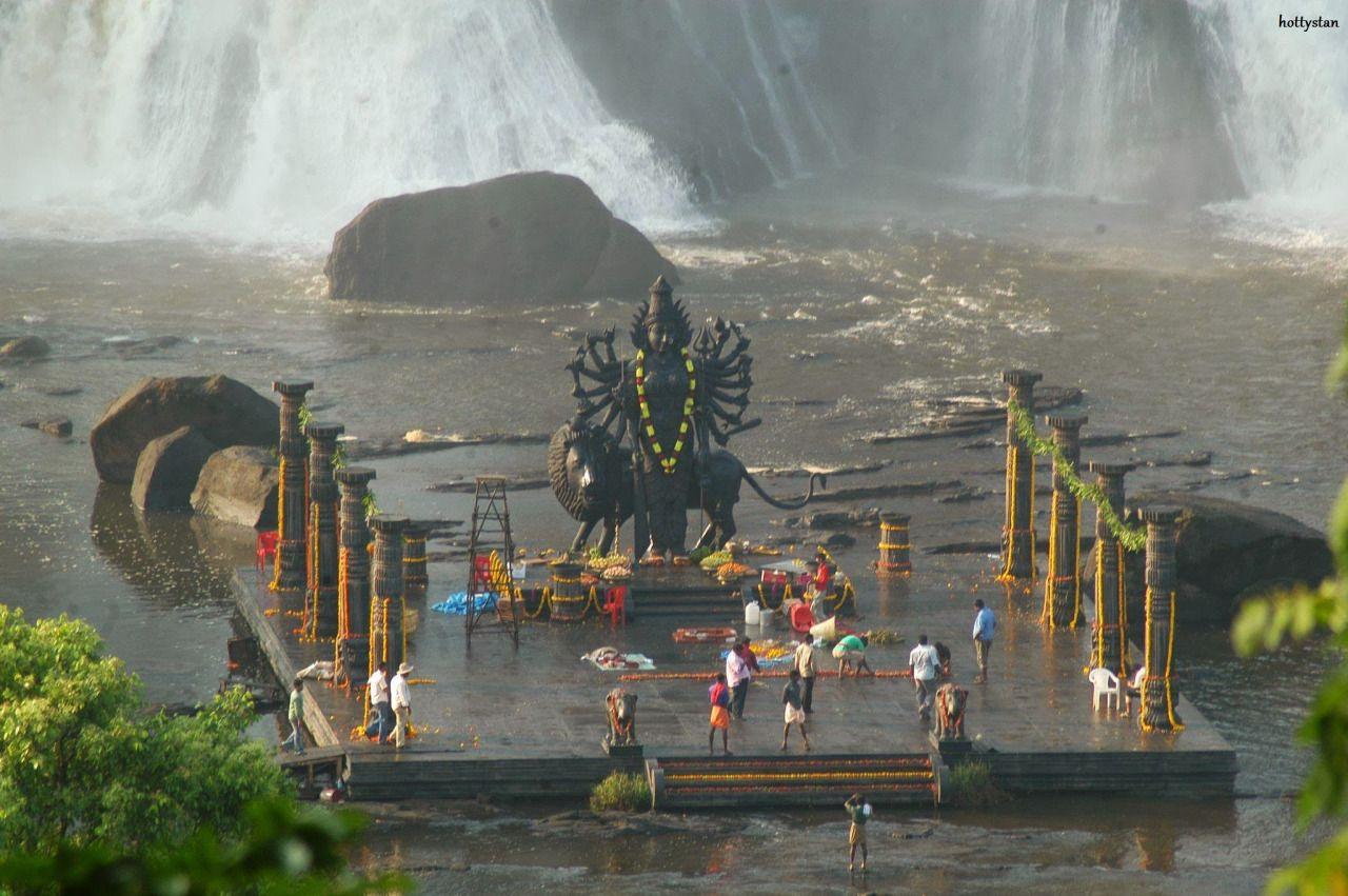 Pisharikkal Bhagavathy Temple, Chalakudy Falls Thrissur ...