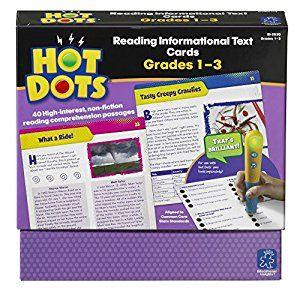 Amazon Com Educational Insights Hot Dots Reading Informational