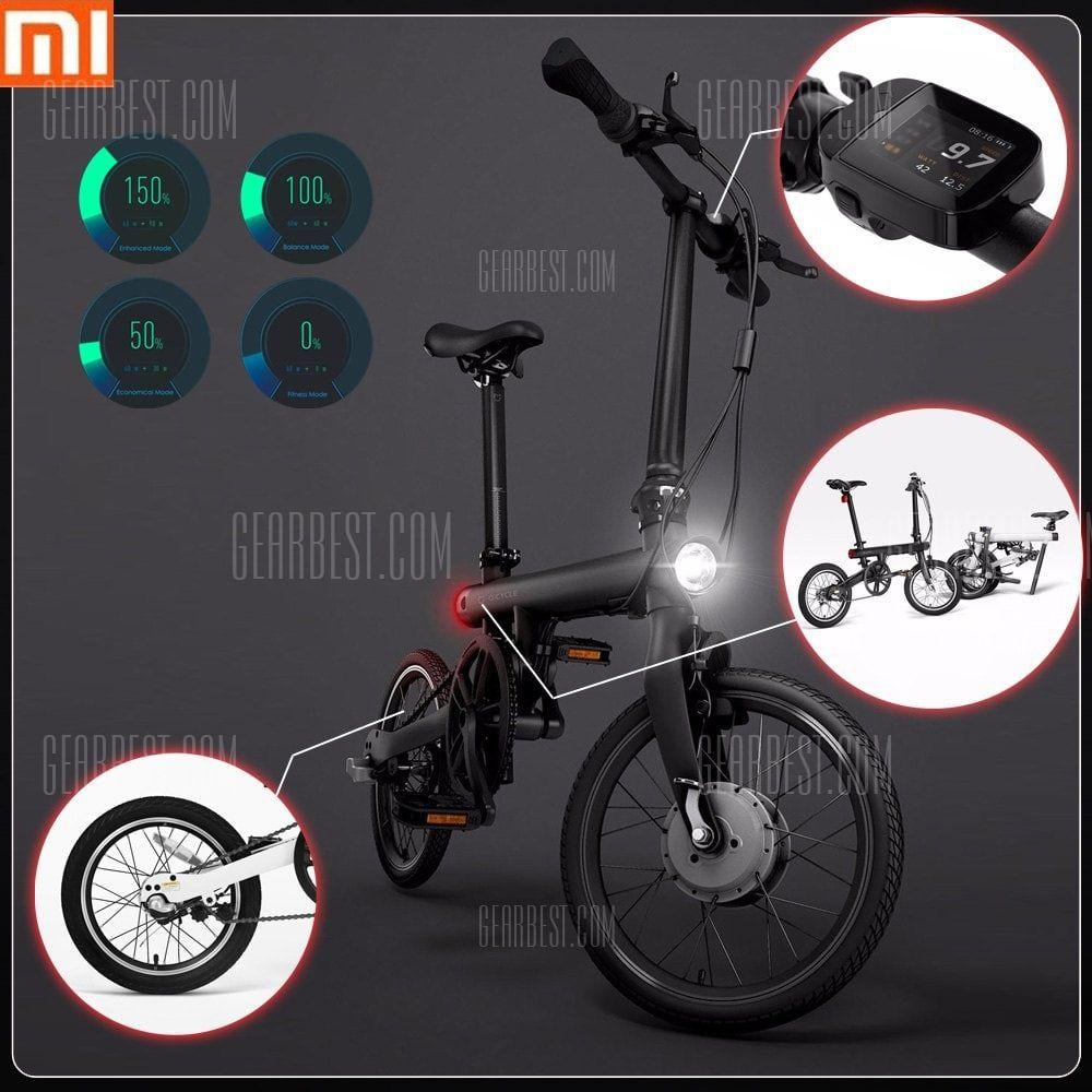 Qicycle Ef1 Smart Elektrisches Fahrrad Von Xiaomi Mijia Gearbest