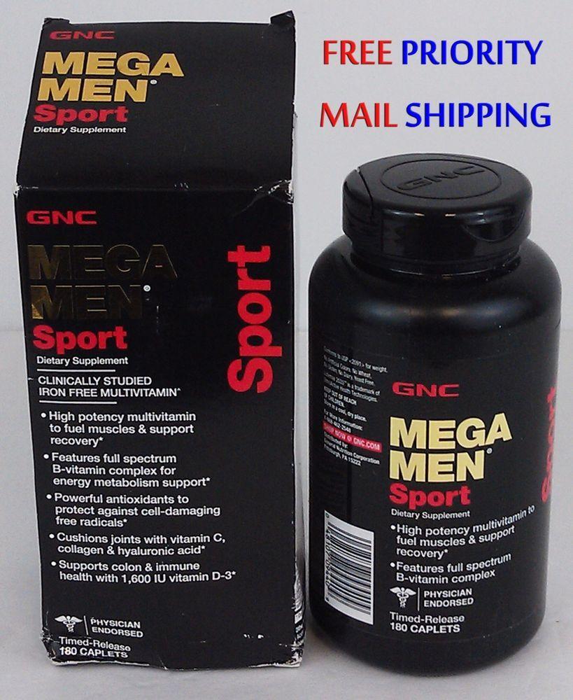 26.99 GNC MEGA MEN Sport Multivitamin, 180 Time Release