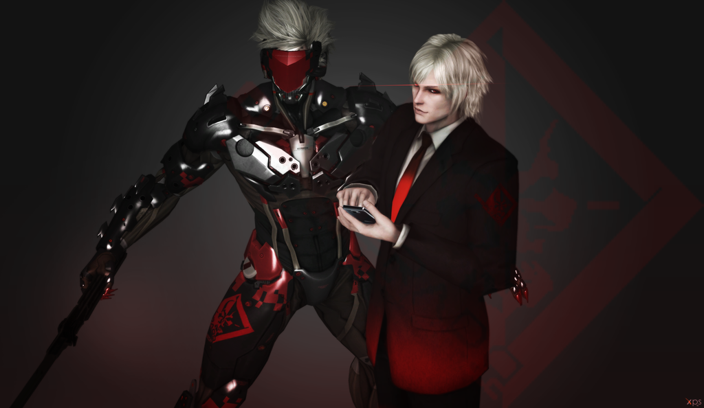 Raiden Dark Eyed And Dangerous Metal Gear Metal Gear Rising Metal Gear Solid