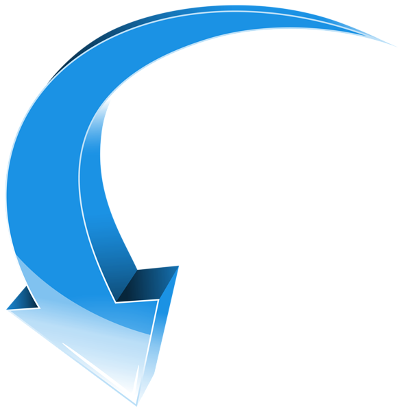 Blue 3D Arrow Transparent PNG Clip Art Image | arrow .ukazateli ...