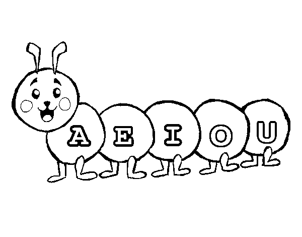 Vowel Coloring Pages Portuguese Lessons Learn Portuguese Learning