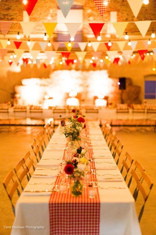 decoration mariage guinguette