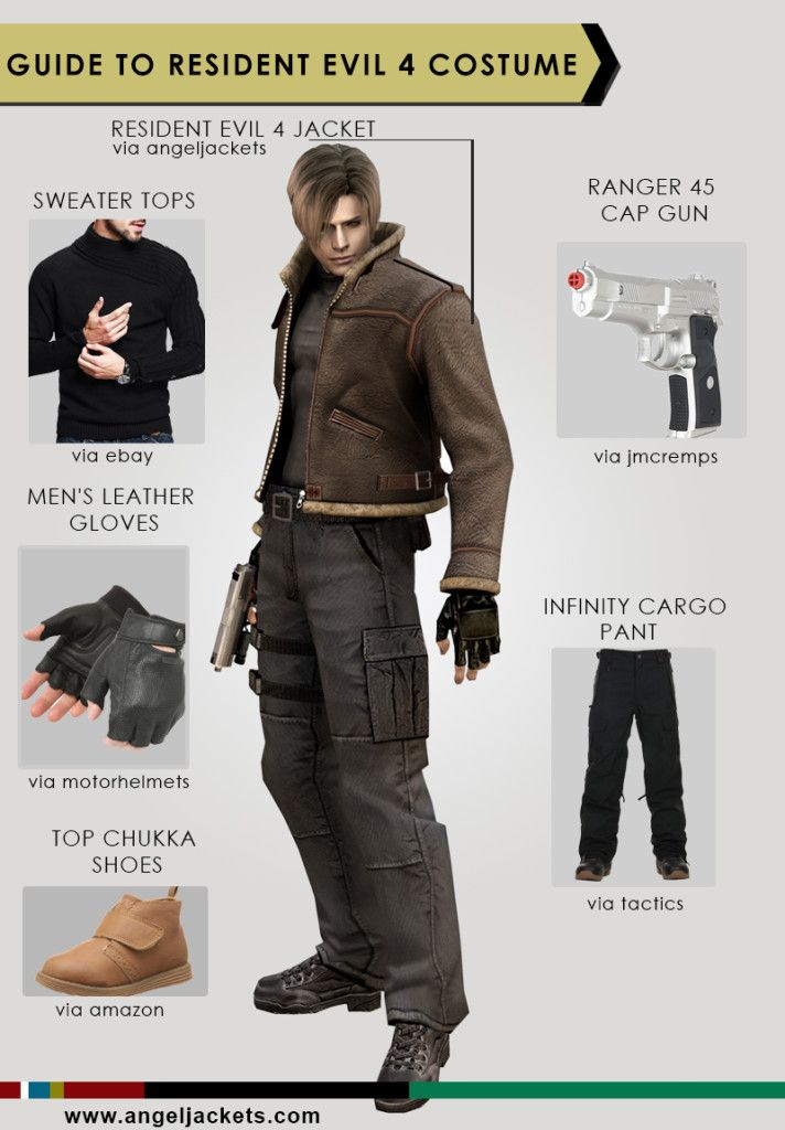 Resident Evil 4 Costume Your Diy Guide Jackets Leather