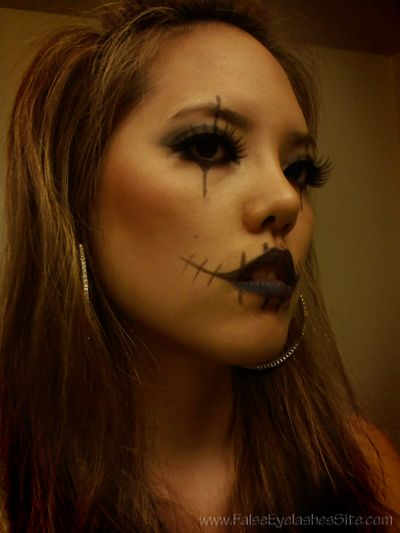 e54d6286c65 Halloween Glasgow look. Halloween Looks, Halloween Face Makeup, Crazy Makeup,  False Lashes