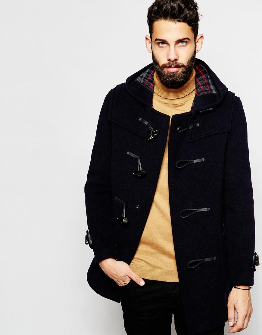 gloverall-navy-duffle-coat-with-check-hood-blue-product-3 ...