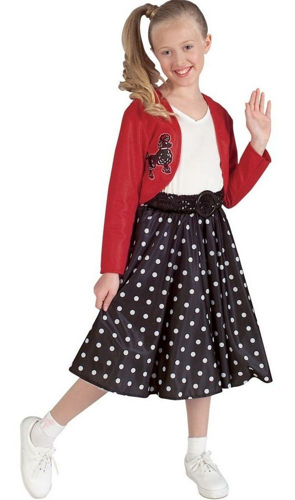 kids 50s costume - Google Search - Ladies Sexy Rock N Roll #1950s 50s 60s Grease #fancy Dress Pink