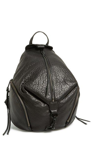 loving this leather backpack!