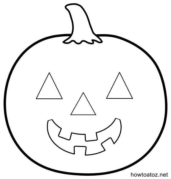 plantilla-calabaza-halloween | Manualidades halloween | Pinterest ...