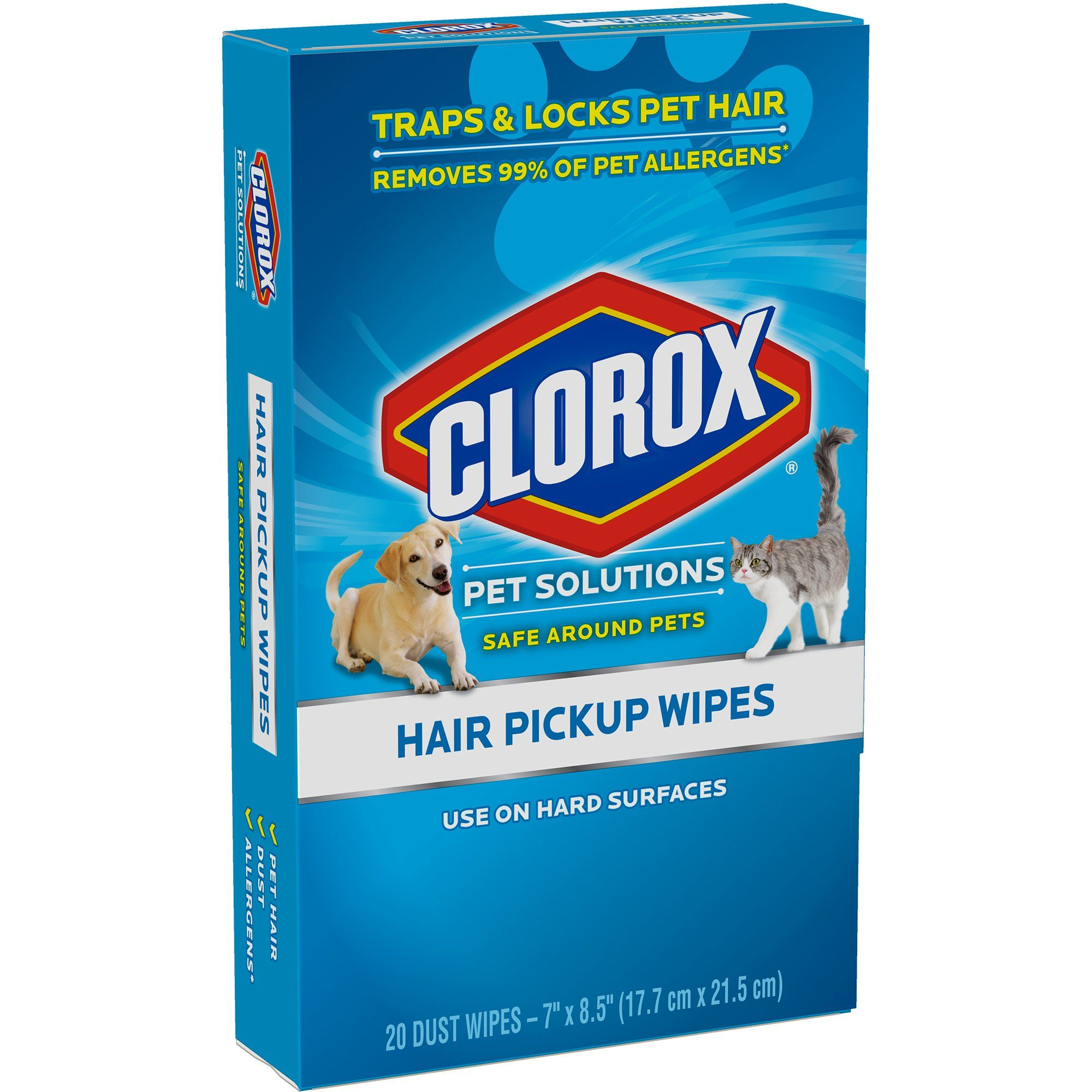 Clorox Hair Pickup Wipes Count Of 20 15 Lb White How To