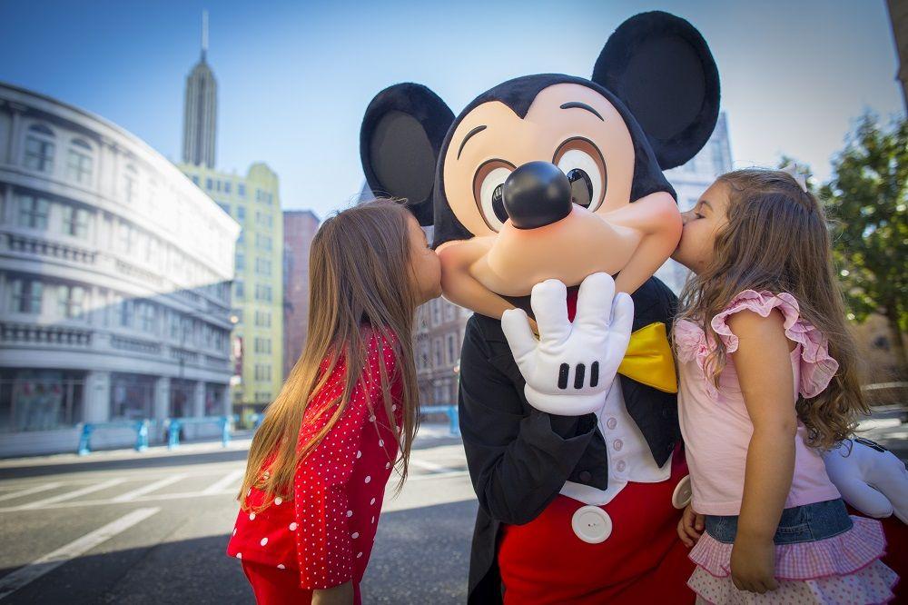 Meeting characters at Walt Disney World