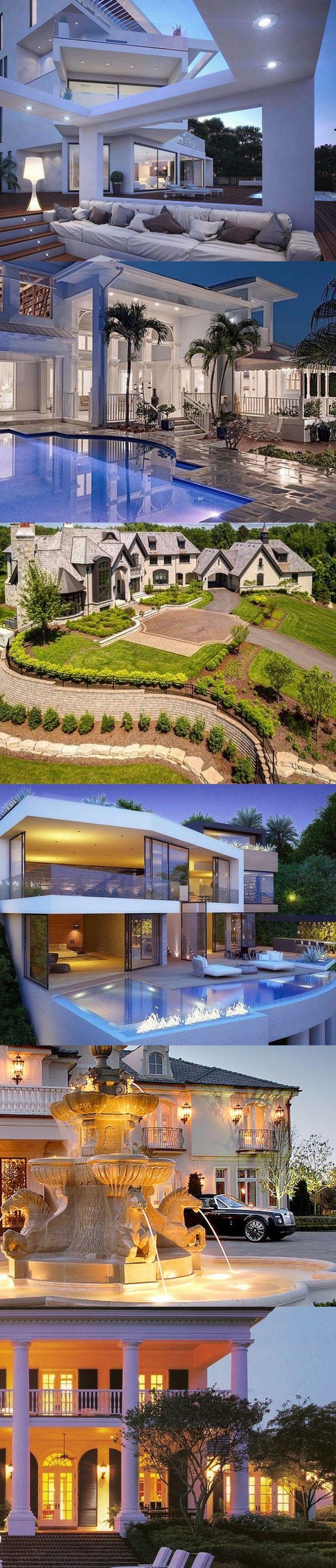 54 Stunning Dream Homes U0026 Mega Mansions From Social Media