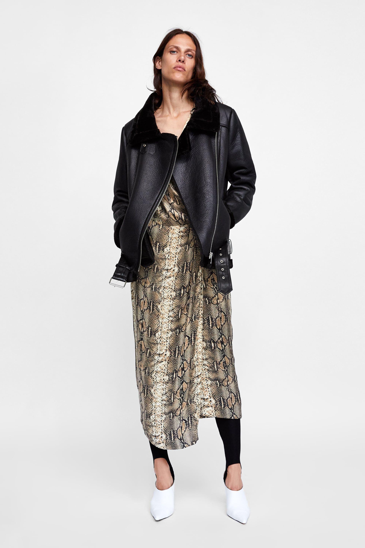 Clothing De Image Jackets 1 Zara Bimatière Motard Veste FqY1qwv