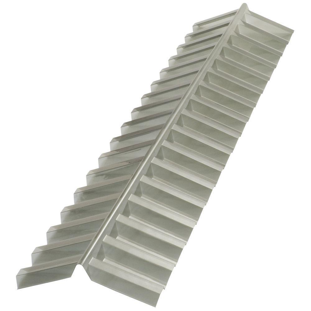 Suntuf 4 Ft Solar Grey Polycarbonate Roof Panel Ridge Cap 108654 With Images Polycarbonate Roof Panels