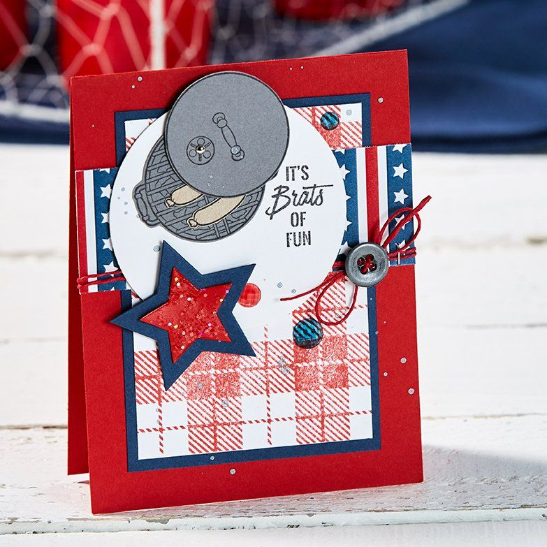 backyard bbq  cool cards cards summer diy