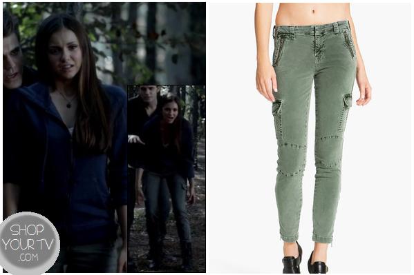 Shop Your Tv: The Vampire Diaries: Season 4 Episode 2 Elena Gilbert's Green Cargo Pants