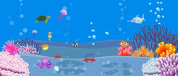 Cartoon Ocean Scene Cartoon Creative Cartoon Sun Summer Poster Design Png Transparent Clipart Image And Psd File For Free Download
