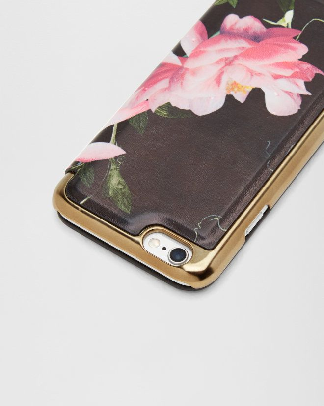 c17499a5166b1 Citrus Bloom iPhone 6 6s case - Black