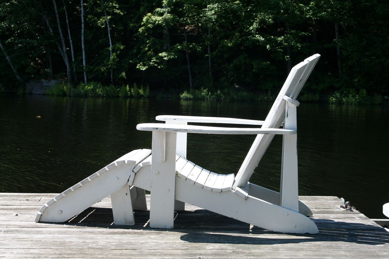 Adirondack Chair & Foot Stool Plans FULL SIZE PAPER
